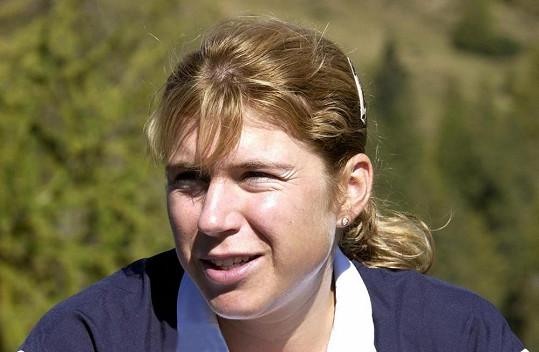 Kateřina Neumannová v roce 2001.