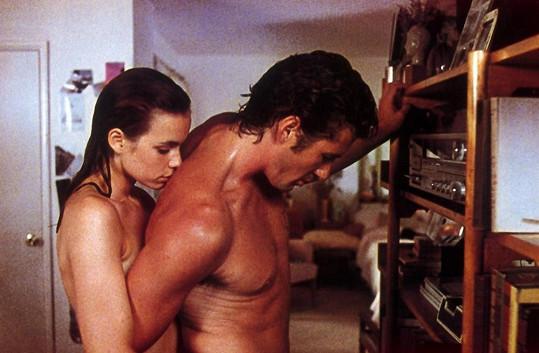 Richard Gere v hlavní roli filmu U konce s dechem (1983).