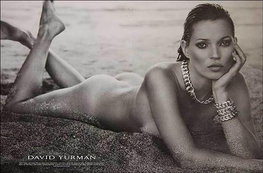 Kate na reklamním snímku pro značku David Yurman.
