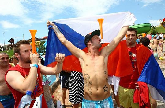...a byl oporou českého týmu celebrit, který soutěžil v několika sportovních disciplínách.