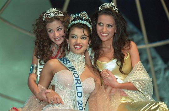 V roce 2000 se stala nejkrásnější ženou světa.