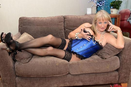I když je Beverly třiašedesát let, energie má na rozdávání.