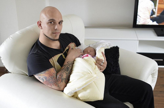 Natálie se narodila koncem dubna.