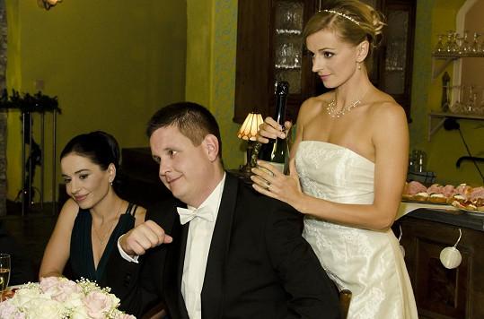 Svatební veselka v Ordinaci.
