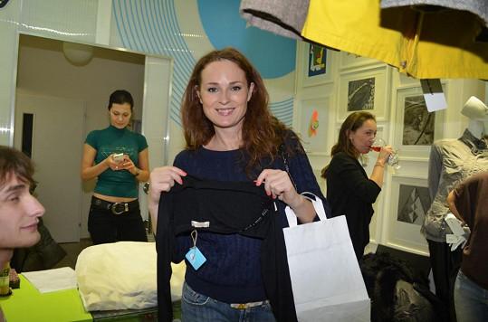 I Markéta přispěla svojí troškou do mlýna charity.