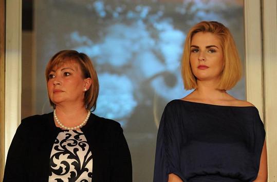 Kateřina Zemanová s maminkou Ivanou