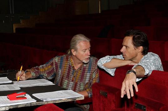 Janek Ledecký a režisér Robert Johanson nabídli Martě Jandové roli v muzikálu Iago.
