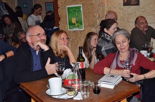 Na křtu se zastavily herečky Táňa Fischerová a Tereza Herz Pokorná.