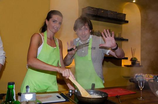 Pavel Kožíšek přiznal, že mu manželka i tchyně musí z jídel vybírat kosti.
