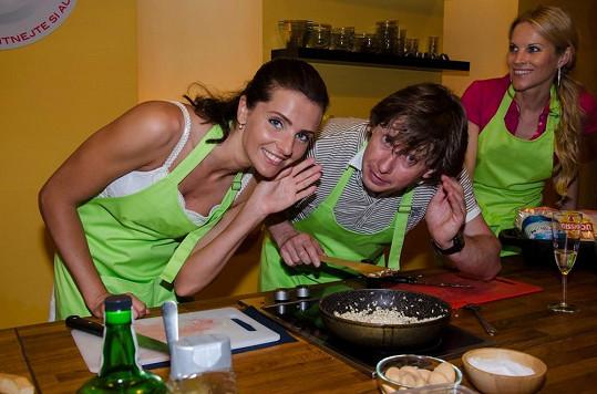 Martina Dvořáková se naučila nové recepty, kterými doma potěší svého přítele.