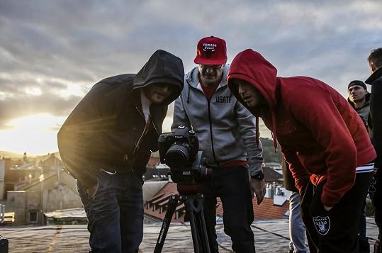 Kontrola natočených záběrů