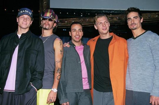 Backstreet Boys v plném počtu v roce 1999