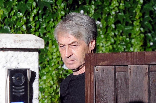 Josef Rychtář před televizním duelem.