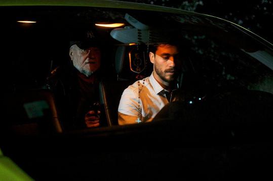 Filip Tomsa ve filmu Taxi 121