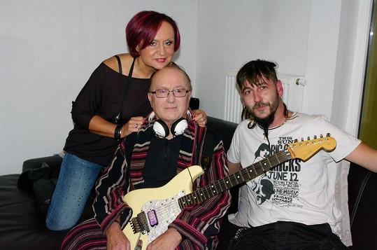S Petrem Jandou a Tomášem Zajícem