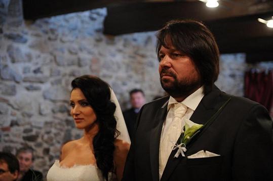 Andrea a Jiří se za chvíli stanou manželi.