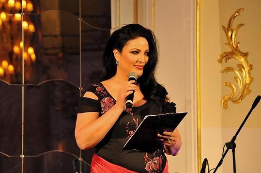 Ivana Christová moderovala charitativní večer La Sophia.