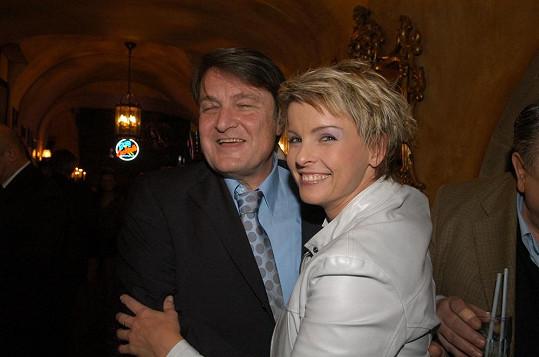 Iveta Bartošová a Ladislav Štaidl