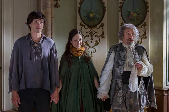 František, Veronika a hlavní hrdina pohádky Viktor Preiss