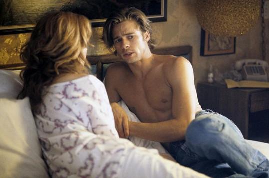 Brad Pitt ve své první důležité roli okouzlil nejen Geenu Davis.