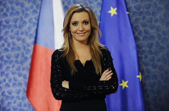 Lenka Pastorčáková ještě jako moderátorka TV Prima