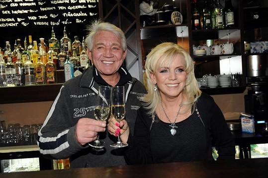 Jiří a Hana Krampolovi jsou spolu dvacet let.