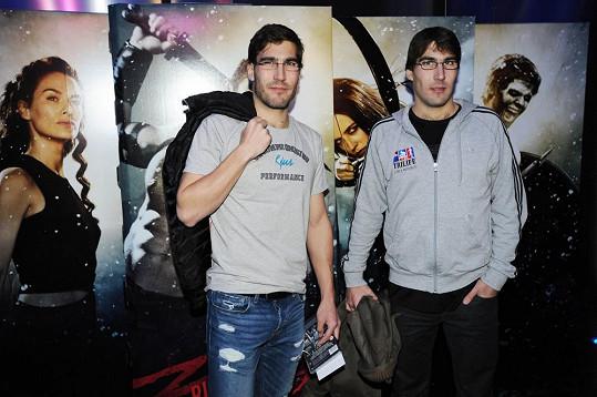David Svoboda s bratrem, dvojčetem Tomášem