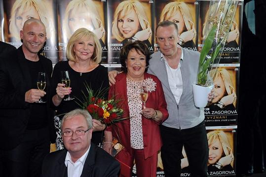 Jiřina křtila album Hany Zagorové.