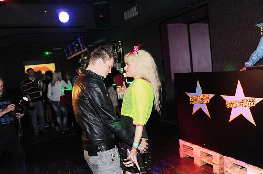 Kateřina Kristelová s Kazmou chodí přesně rok.