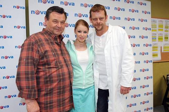 Václav Postránecký, Michaela Sejnová a Martin Stránský.