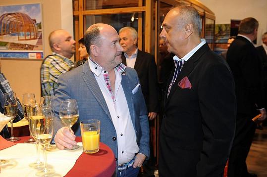 S Petrem Kovarčíkem, který na letošní Thálie sháněl sponzory.