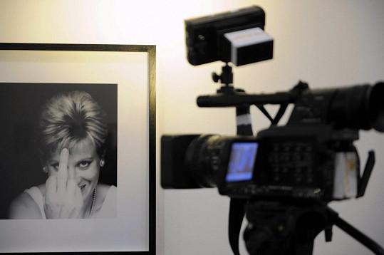 Princezna Diana má na výstavě celou sekci fotografií.