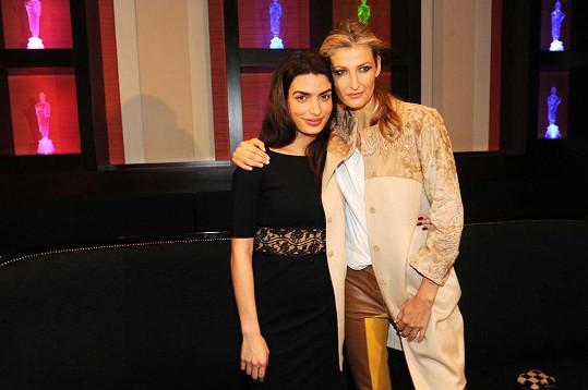 Tereza Maxová a Tonia Sotiropoulou.