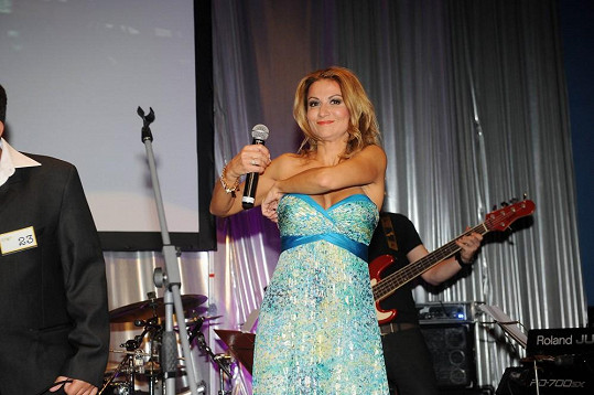 Yvetta Blanarovičová pořádala koncert pro svoji nadaci La Sophia.