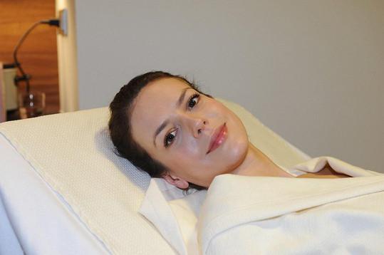 Když herečka hrála nemocnou ženu, tak se jí prý role vepsala do tváře i v reálném životě.