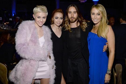 Miley a Jared se koncem ledna setkali na párty před cenami Grammy.