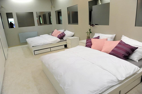 Menší ložnice