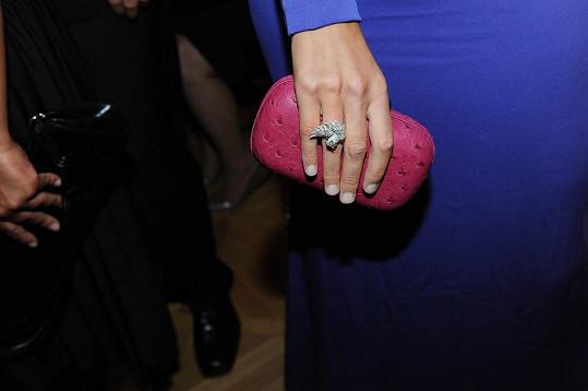 Drahý byl i prsten a kabelka.