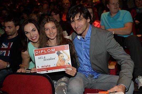 S porotci Kamilou Nývltovou a Zdeňkem Podhůrským