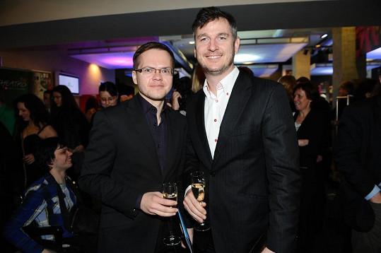 Lumír Olšovský s přítelem Pavlem
