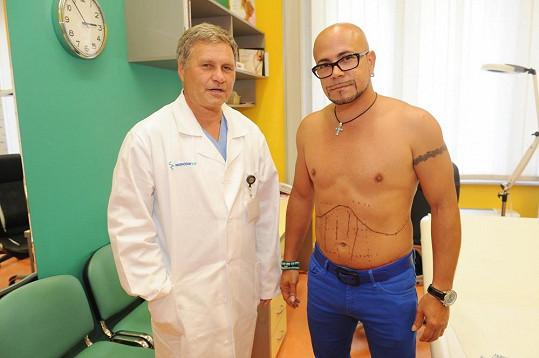 Osmany s plastickým chirurgem Peterem Ondrejkou