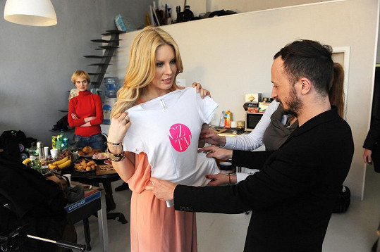Krainová fotila kampaň na svou soutěž modelek.