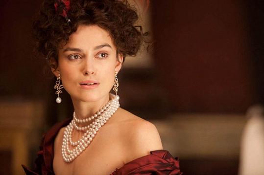 Keira Knightley si v oscarovém snímku zahrála Annu Kareninu.