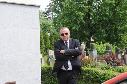 Zdeněk Zahradník už je v tuto chvíli ve Strašnicích.