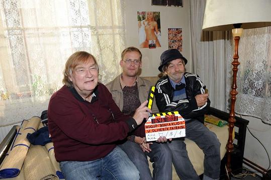O první klapku se zasloužil sám režisér Vít Olmer.
