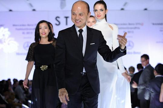 Jimmy Choo na Mercedes-Benz STYLO Fashion Week v Malajsii.