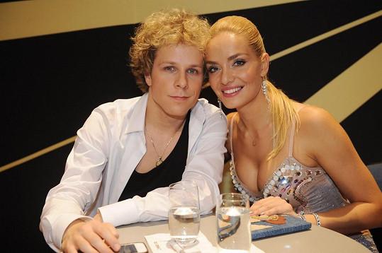 Jan Onder a Taťána Kuchařová opět v sobotu zářili.