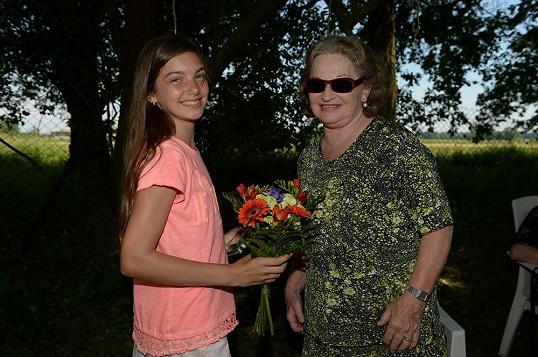 Mezi gratulanty byla i drbna Horáčková Jany Synkové.