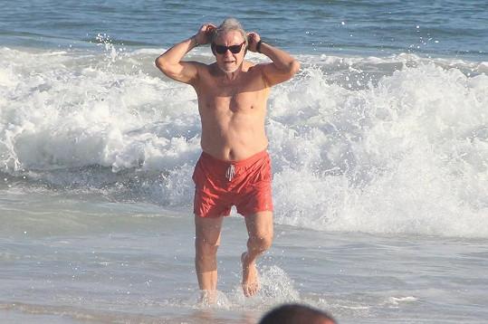Harvey Keitel je stále fit.