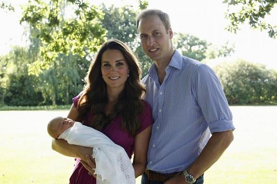 Williamovi a Kate rodičovství svědčí.